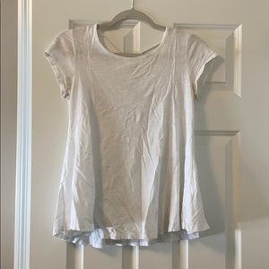 Lightweight white t-shirt